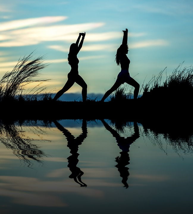 Hatha Yoga Silhouette