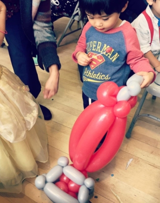 Balloon Twisting Vacuum