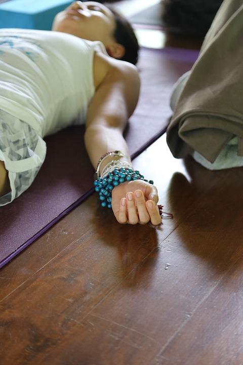 Yoga Relaxation Shivasana Zen Mala Beads